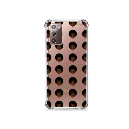 Capa (Transparente) para Galaxy Note 20 - Black Girl