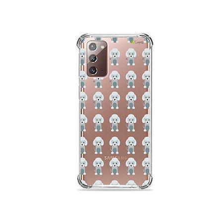 Capa (Transparente) para Galaxy Note 20 - Poodle