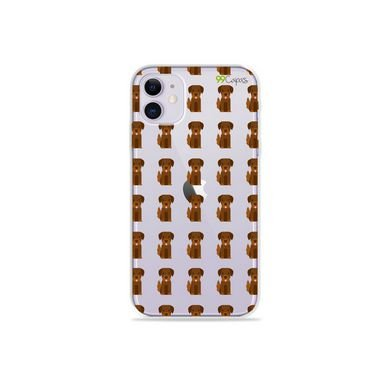 Capa (Transparente) para Iphone 12 - Golden
