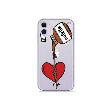 Capa (Transparente) para Iphone 12 - Nutella