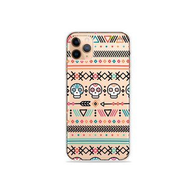 Capa (Transparente) para iPhone 12 Pro - Tribal