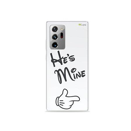Capa para Galaxy Note 20 Ultra - He's Mine
