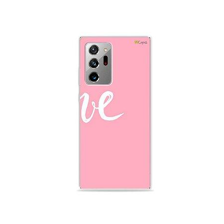 Capa para Galaxy Note 20 Ultra - Love 2