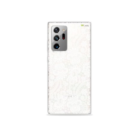 Capa (Transparente) para Galaxy Note 20 Ultra - Rendada