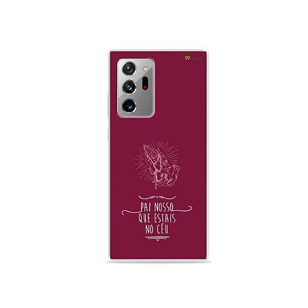 Capa para Galaxy Note 20 Ultra - Pai Nosso