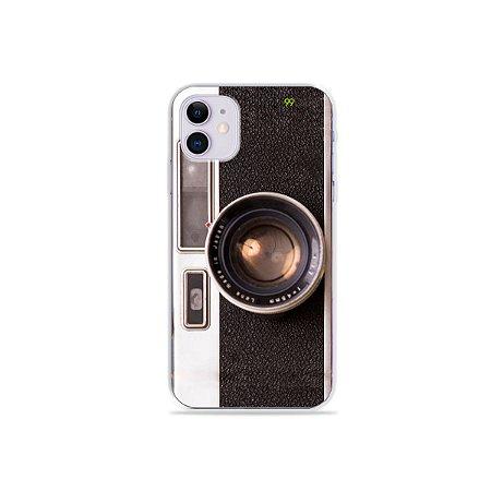 Capinha Câmera para iPhone 11