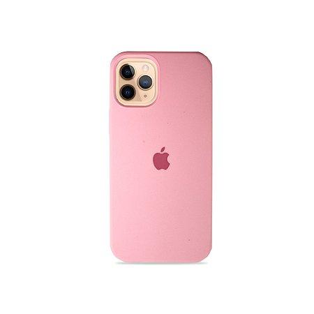 Silicone Case Rosa Bebê para iPhone 12 - 99Capas