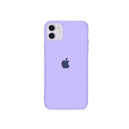 Silicone Case Lilas para iPhone 12 - 99Capas