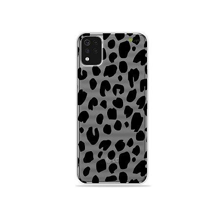 Capa (Transparente) para LG K52 - Animal Print Basic