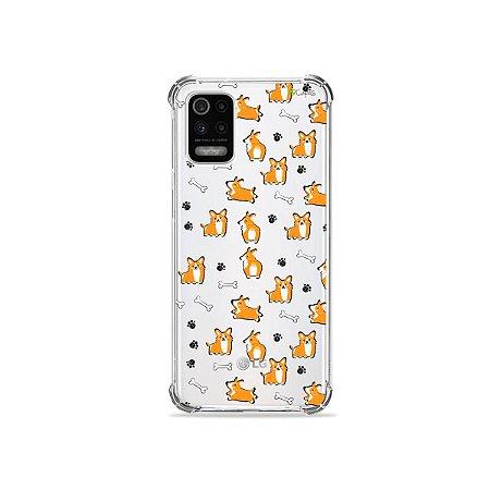 Capa (Transparente) para LG K62 - Cãozinho