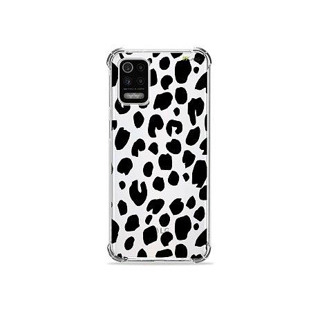 Capa (Transparente) para LG K62 - Animal Print Basic