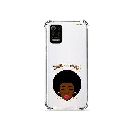 Capa (Transparente) para LG K62 - Black Lives