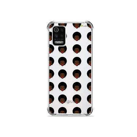 Capa (Transparente) para LG K62 - Black Girl