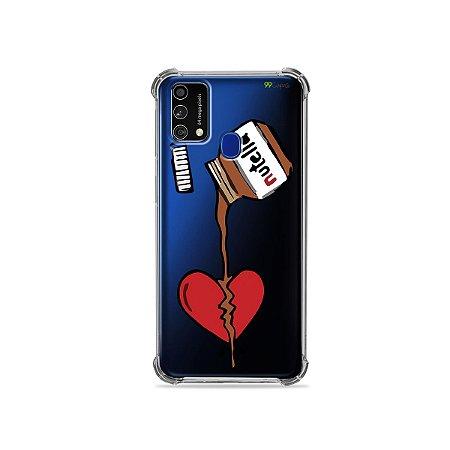 Capa (Transparente) para Galaxy M21s - Nutella