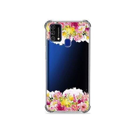Capa (Transparente) para Galaxy M21s - Botânica