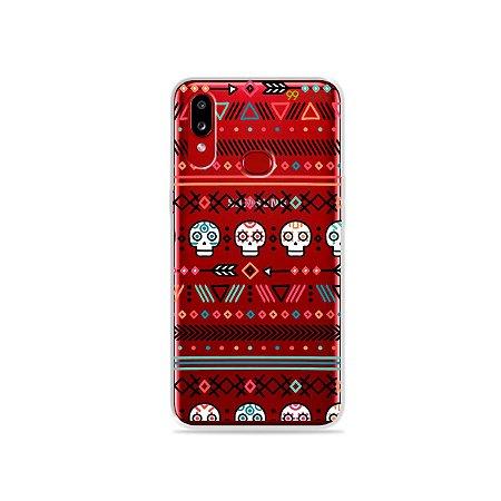 Capinha (transparente) para Galaxy A10s - Tribal