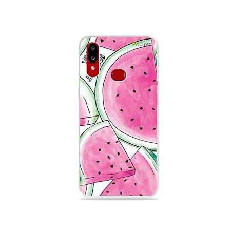 Capinha para Galaxy A10s - Watermelon