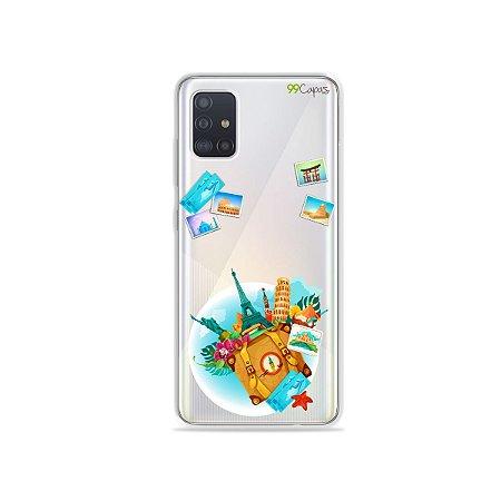 Capinha (transparente) para Galaxy A51 - Memórias