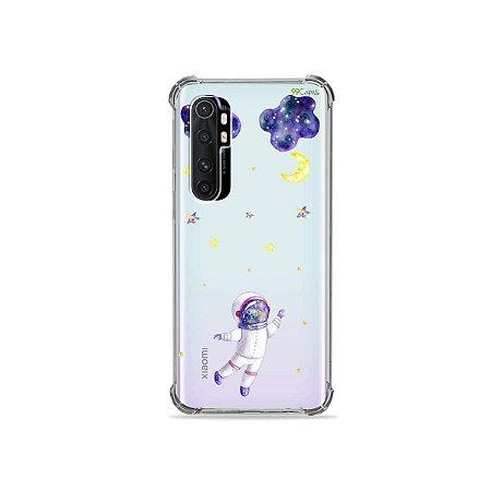 Capa (transparente) para Xiaomi Mi Note 10 Lite - Astronauta Sonhador