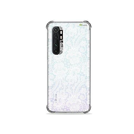 Capa (transparente) para Xiaomi Mi Note 10 Lite - Rendada