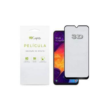 Película de Vidro 3D (borda preta) para Galaxy A72 - 99Capas