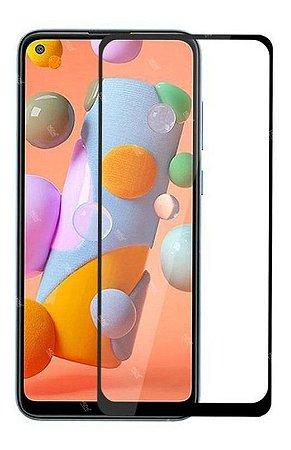 Película de Vidro 3D (borda preta) para Galaxy A11 - 99Capas