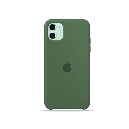 Silicone Case Verde para iPhone 11 - 99Capas