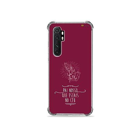 Capa para Xiaomi Mi Note 10 Lite - Pai Nosso