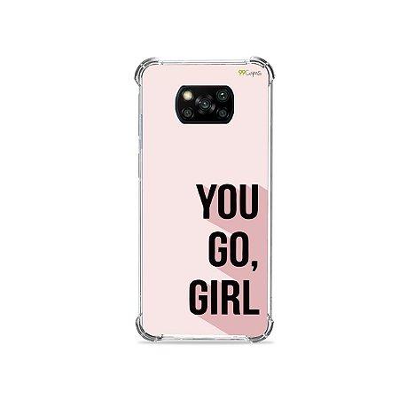 Capa para Poco X3 - You Go, Girl