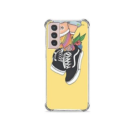 Capa para Galaxy S21 - Sneakers