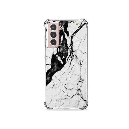 Capa para Galaxy S21 - Marmorizada
