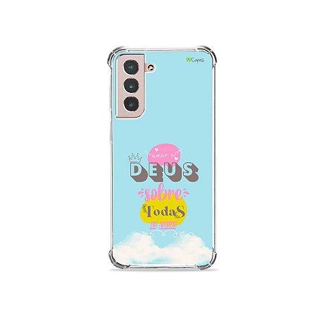 Capa para Galaxy S21 Plus - Amar a Deus