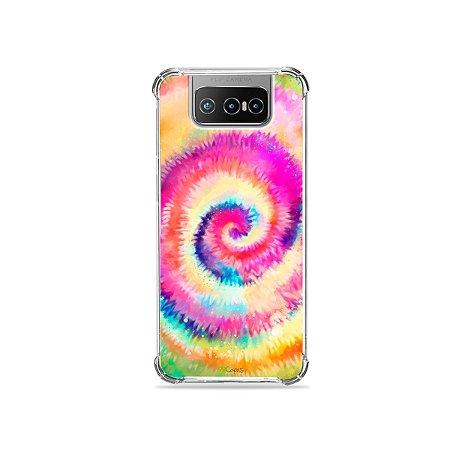 Capa para Zenfone 7 - Ti Dye