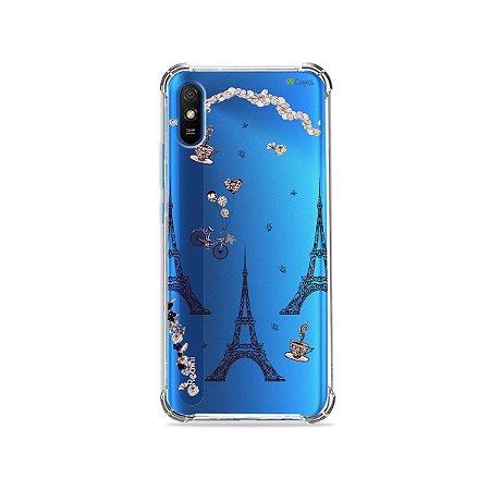 Capa (Transparente) para Redmi 9i - Paris