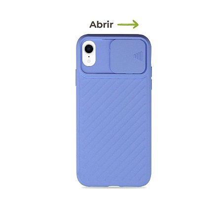 Case Up Lilás (com proteção de câmera) para iPhone XR