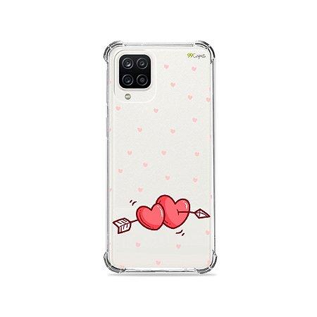 Capa (Transparente) para Galaxy A12 - In Love