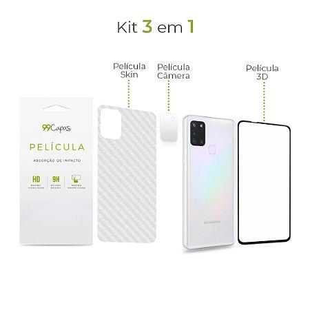 Kit de Películas 3 em 1 para Galaxy A21s