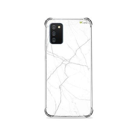 Capa para Galaxy A02s - Marble White
