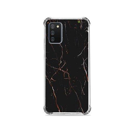 Capa para Galaxy A02s - Marble Black