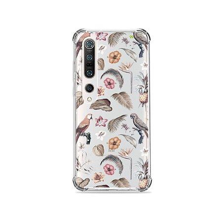Capa (Transparente) para Xiaomi Mi 10 Pro - Sweet Bird