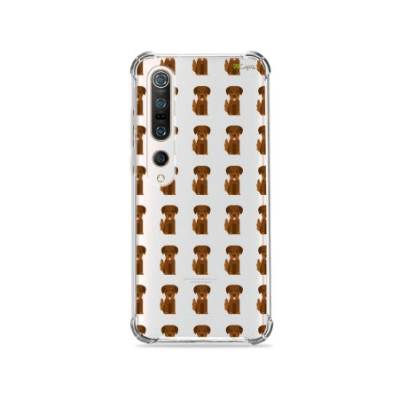Capa (Transparente) para Xiaomi Mi 10 Pro - Golden