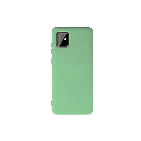 Silicone Case Verde Claro para Galaxy Note 10 Lite - 99Capas