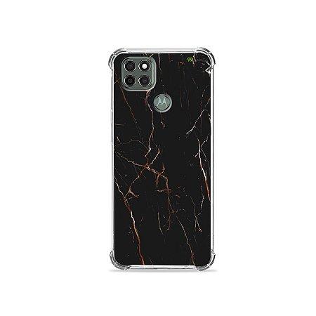 Capa para Moto G9 Power - Marble Black