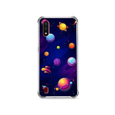 Capa para Galaxy A01 - Galáxia