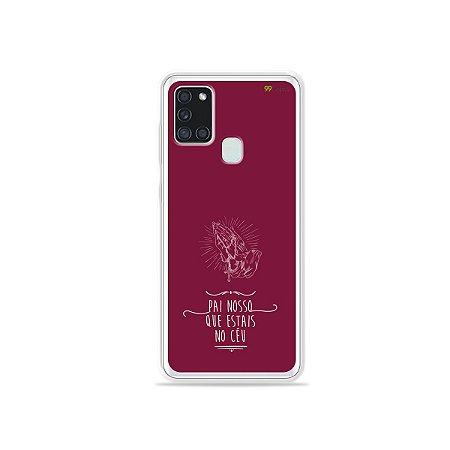 Capa para Galaxy A21s - Pai Nosso