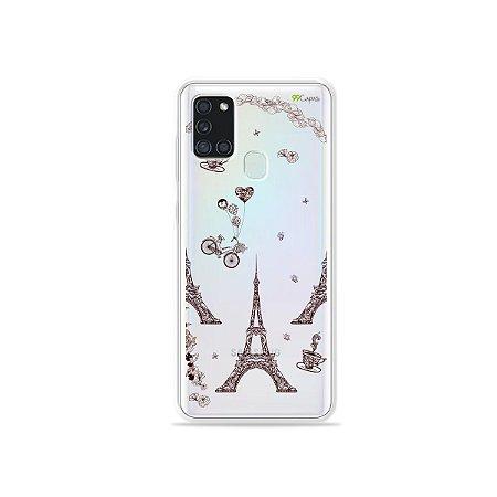 Capa (Transparente) para Galaxy A21s - Paris