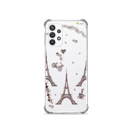 Capa (Transparente) para Galaxy A32 4G - Paris