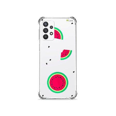 Capa (Transparente) para Galaxy A32 4G - Melancias