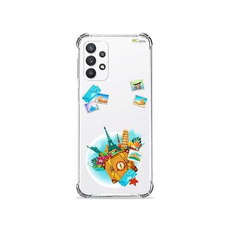 Capa (Transparente) para Galaxy A32 4G - Memórias