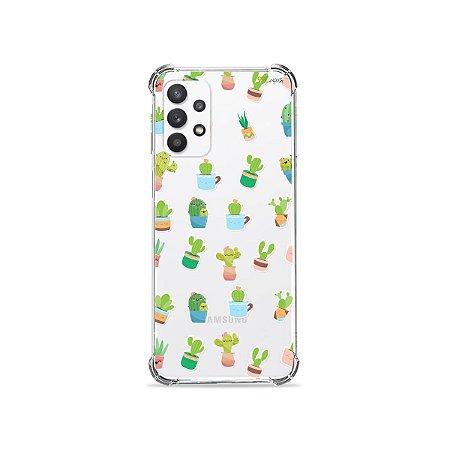 Capa (Transparente) para Galaxy A32 4G - Cactus